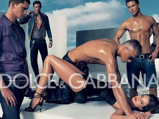 Dolce & Gabbana. It's what all the rapists are wearing these days.